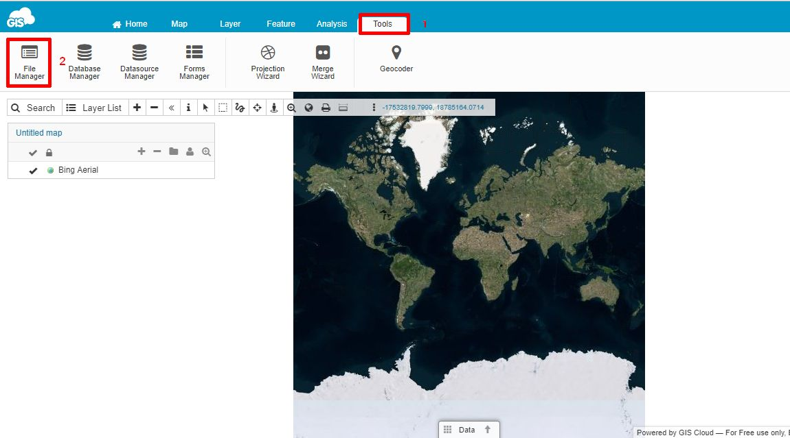 GIS Cloud File Manager