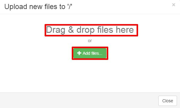 Drag and Drp Files